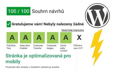 Jak zrychlit web na WordPressu